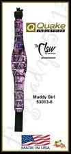 "QUAKE ""THE CLAW"" Contour Rifle Sling w/Swivels - MUDDY GIRL - 53013-8 USA Made"