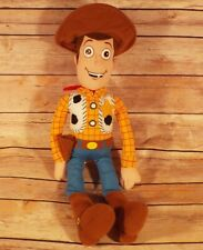 "Woody Toy Story Medium 17"" Tall Stuffed Plush Disney World Disneyland  G"