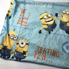 Minions Despicable Me Twin Bed Sheet Flat Sheet