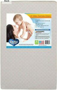Delta Children Twinkle Stars 4-Inch Mini Crib Mattress