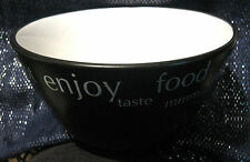 4x great Rayware bowls in very good condition in black approx 5 3/4 ins wide