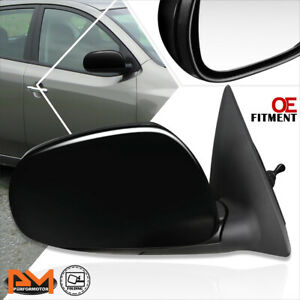 For 10-13 Kia Forte Koup OE Style Manual Adjust Side Rear View Door Mirror Right