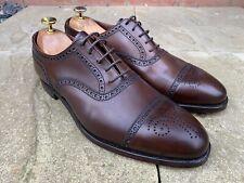 Crockett & Jones Coventry Dark Brown Oxford Shoe Bargain UK 7.5 US 8.5