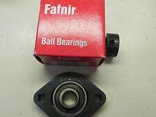FLCT 5/8 FAFNIR New Ball Bearing Flange Unit 5/8 bore 2 bolt mounting New