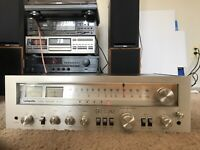 Lafayette LR-5555A vintage AM/FM Stereo Receiver Working Fine/ Looks Great