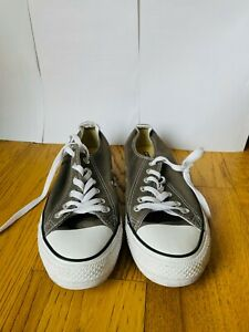Size UK 7 - Converse Chuck Taylor All Star Low Charcoal