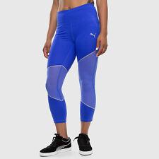 New PUMA Women's 3/4 Mesh Clash Tights Training Running Gym Pants 51479403 XXL