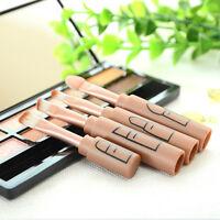 4in1 Lidschatten Tool Makeup Pinsel Set Augenbraue Folded Lip Brush Beauty