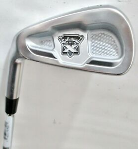 Callaway X Forged 6 Iron Dynamic Gold S300 Steel Shaft Golf Club LH 37 1/2""