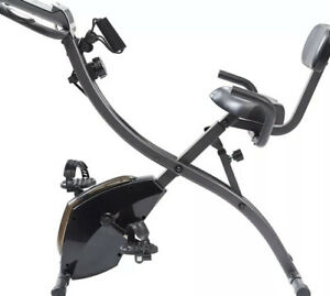 High Street TV! Slim Cycle 2-in-1 Stationary Exercise Bike Full-Body Workout