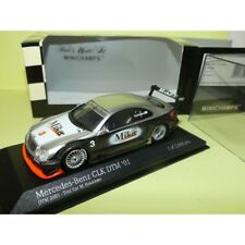 Mercedes CLK DTM 2001 Test car M. Hakkinen Minichamps 1 43