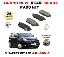 FOR SUBARU TRIBECA 3.0i B9 1/2005> BRAND NEW REAR BRAKE PADS KIT
