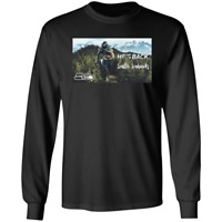 Men's He's Back Marshawn Lynch #24 Seattle Seahawks NFL Black T-shirt M-3XL