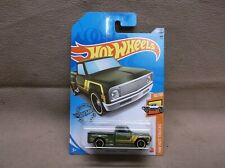 Hot Wheels 2020 #202 Green 1969 Chevrolet 69 Chevy Pick Up Shop Truck Hot Rod