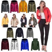 Hip Length Coats & Jackets Hood Puffer for Women