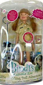 BINDI'S Australia Zoo Talking Doll Adventure Set 10 Recorded Messages by Bindi