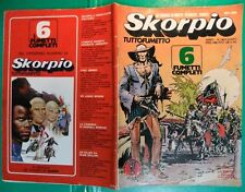 d# SKORPIO 1977 N.5+POSTER SALINAS,EUGENIO BENNATO,ROBERTO PRUZZO,MANUEL SANTANA