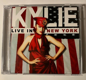 KYLIE MINOGUE - RARE 2-CD SET LIVE IN NEW YORK CITY FOR YOU FOR ME TOUR USA