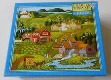 Charles Wysocki Americana Puzzle BURMA ROAD 1000 PC 2004 SEALED NIB