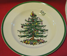 "SPODE CHRISTMAS TREE 10.5""  DINNER PLATE  - NWT"