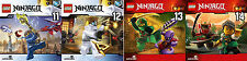 4 CDs * LEGO NINJAGO : MEISTER DES SPINJITZU ( CD 11 - 14 IM SET ) # NEU OVP §
