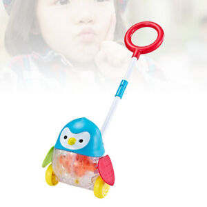 1PC Folding Adjusted Penguin Pattern Trolley Toys for Kids Bbay