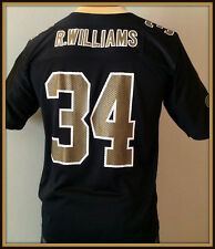 842486d17d1 VINTAGE NEW ORLEANS SAINT RICKY WILLIAMS ADIDAS REPLICA JERSEY YOUTH LARGE  14-16