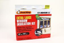 Frost King Extra Large Insulation Kit 62X210 Indoor Use Shrink Film