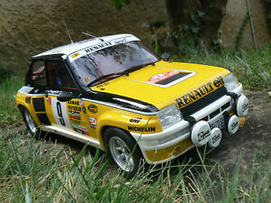 renault 5 r5 turbo rallye monte carlo 1981 1/12 1:12 otto ottomobile ottomodels