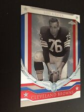 2008 Topps Chrome Honor Roll #HR-LG - Lou Groza - Cleveland Browns