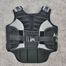 Harry Hall Black/ Grey Hi Flex Riding Body Protector 2009 Size Woman Small