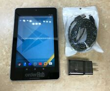 -ASUS NEXUS 7 ME370T 16GB ANDROID 5.1.1 WiFi TABLET BLACK| *ENGRAVED<GOOD COND.