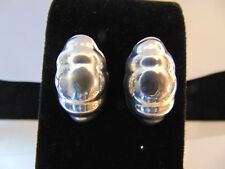 Made In Mexico Beautiful Sterling Silver Earrings With Backs,