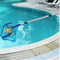 Swimming Pool Leaf Skimmer Net Catcher with Pole Adjustable Aluminum Telescopic