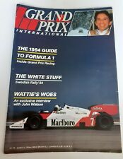 New listing GRAND PRIX INTERNATIONAL Magazine #75 1984