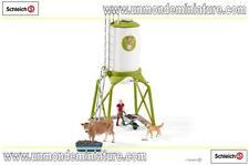Farm World Silo à nourriture avec animaux SCHLEICH - SC 41429