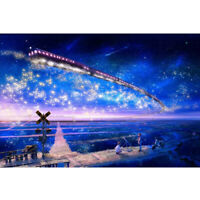1000 Pieces Adult Puzzles Difficult Noctilucent Growups Puzzle Star Train