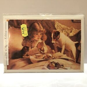 Vintage Pears Soap Advertising 'Suspense' Greeting Birthday Card Sealed Rare