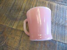 Fire King Pink Coffee Mug - Vintage