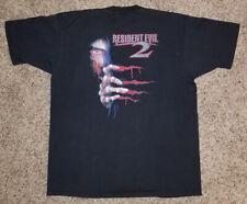 Resident Evil 2 vintage 1998 pre-order promo XL t-shirt shirt psx NEW RARE