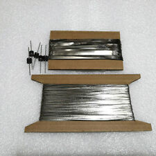 DIY Solar Cell Kit with 200 ft Tabbing wire, 20 ft Bus wire, 5pcs 10 amp Diodes