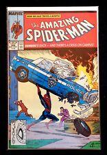 The Amazing Spider-man#306 (action comics #1 Homage)