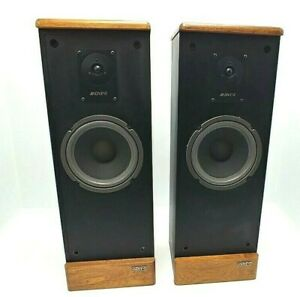 Vintage Advent Prodigy Tower Speakers: New Woofer Foam: Excellent Shape-Works