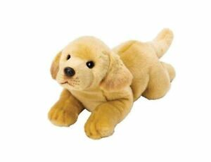 "Yomiko Classic Labrador Dog 14"" Stuffed Animal by Russ Berrie"