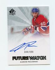 11/12 SP AUTHENTIC FUTURE WATCH ROOKIE RC AUTO #229 AARON PALUSHAJ /999 *45955