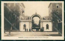 Trento città Caserma Madruzzo 18º Reggimento Fanteria Militari cartolina QT7783