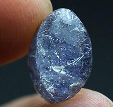 3.5Ct 100% Natural Clear Blue Dumortierite Crystal Quartz Pendant Polished