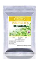 Vitamin Vit D3 10000iu SYNVIT® Softgels Vitamin D vit d - No Quibble Guarantee!.