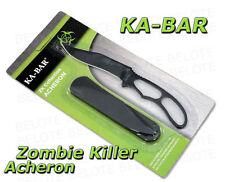 Ka-Bar KaBar ZK Zombie Killer Acheron Skeleton Knife 5699BP