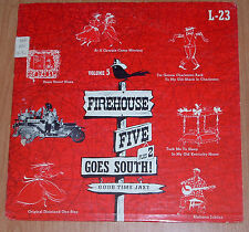 "FIREHOUSE FIVE PLUS 2: GOES SOUTH (Vol. 5) 10"" LP Good Time Jazz (L-23) 1954"